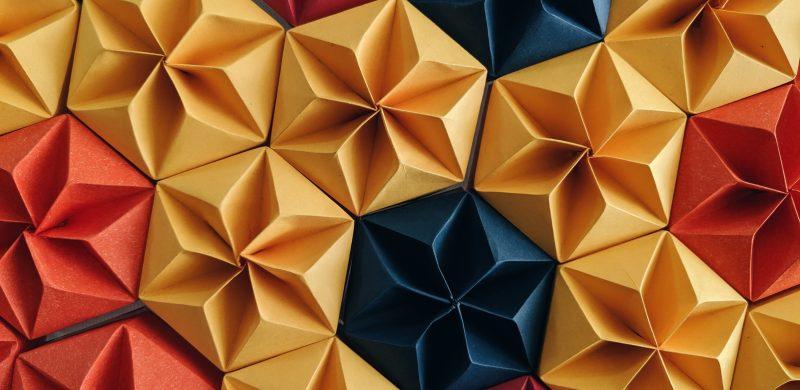 papel textura acabado origami