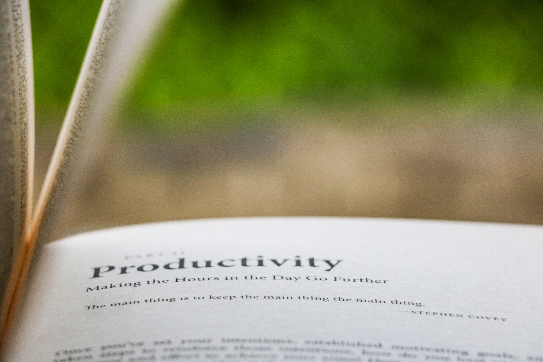 habitos productividad